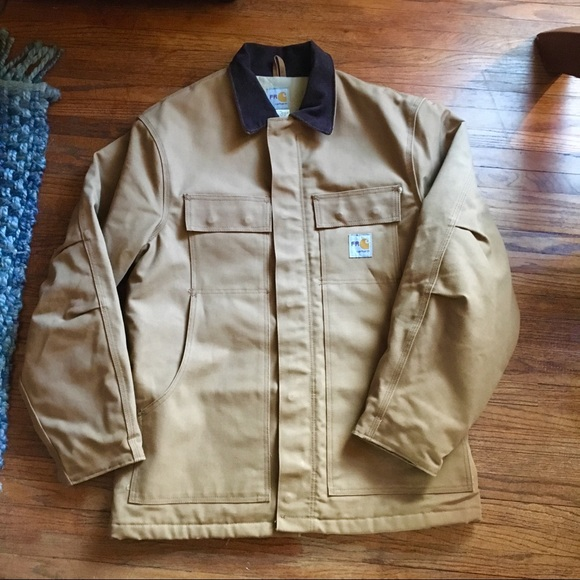 be13ad47cb Carhartt Flame Resistant Jacket Duck Canvas New M.  M_5c01a9c134a4ef3485e93afe